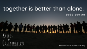 Together is better than alone.